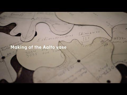 Iittala Making of the Aalto vase