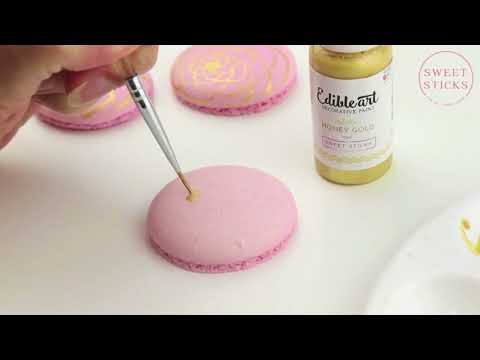 Edible Art Paint - Honey Gold
