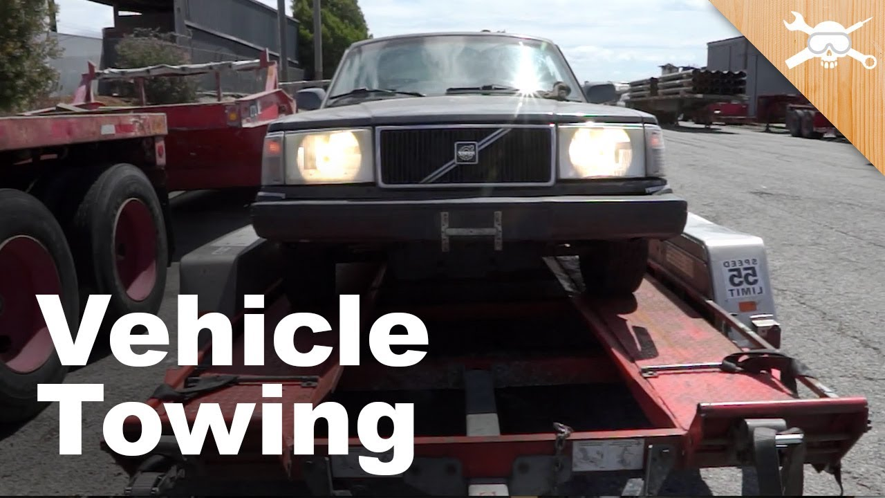 Car Trailer Towing Guide How To Get Your Next Project Home
