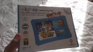 KIDS HighQ Learning Tab - Fun For Kids - Kids Friendly Tablet