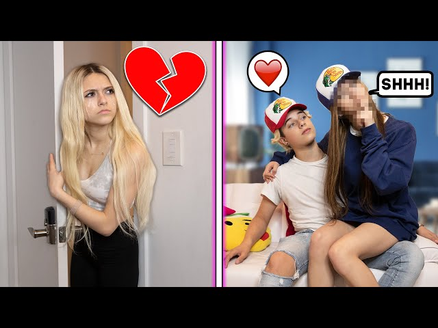 SPYING ON GAVIN IN PUBLIC CHALLENGE **CAUGHT HIM** 💔| Coco Quinn