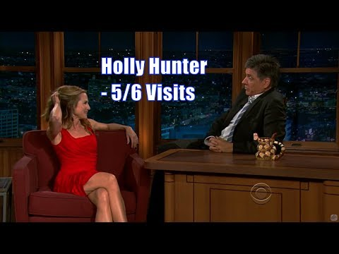 Holly Hunter - Dresses Up In Uniforms During ### - 5/6 Appearances In Chronological Order