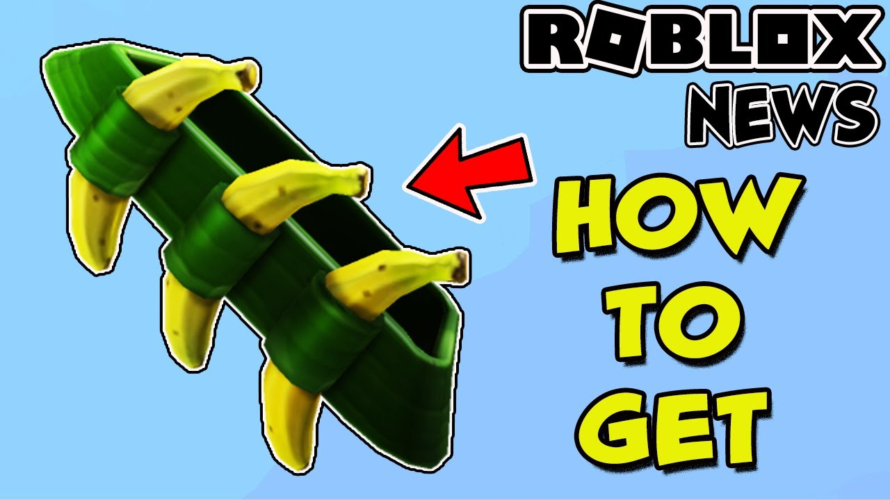 ROBLOX NEWS: HOW TO GET THE BANANDOLIER FOR FREE ON ROBLOX WITH AMAZON PRIME  GAMING - YouTube