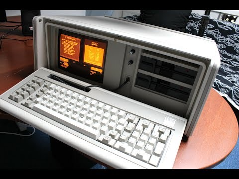 IBM 5155 Portable Personal Computer review (capacitive buckling springs)