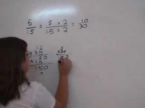 5to grado de primaria. Obtener fracciones equivalentes - YouTube