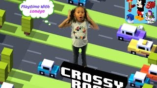 "Disney Crossy Road  ""Look Out"" Family Fun Game 