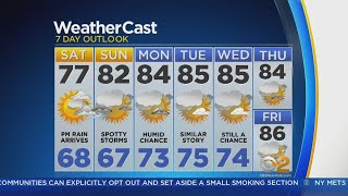 Wet Week On Tape For Tri-State Area