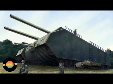 10 najdziwniejszych czołgów
