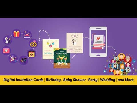 Invitation Maker Rsvp Wedding Birthday Party Apps On