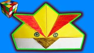 Оригами Angry Birds. Как сделать Angry Birds из бумаги своими руками. Поделки из бумаги(Учимся рукоделию! Angry Birds оригами своими руками! Всё поэтапно и доступно каждому.Видео научит вас как сделат..., 2015-12-14T10:35:38.000Z)