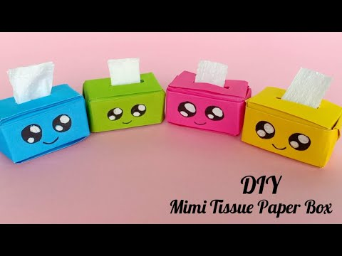 Easy Origami Tissue Box | DIY | How To Make An Origami Tissue Paper Box