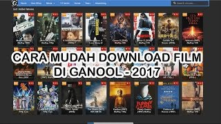Cara Cepat Download Film Di Ganool - 2017
