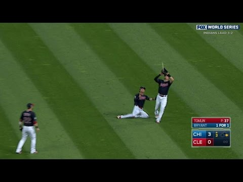 WS2016 Gm6: Chisenhall makes grab in front of Naquin