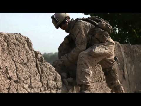 U.S. Marines: Reconnaissance patrol in Sangin, Afghanistan