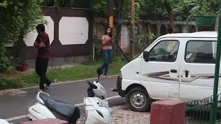 Girl giving handjob in corner of road for free😶😶