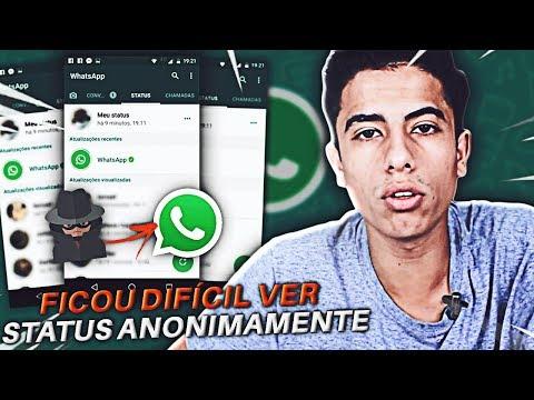 Ficou Dificil Visualizar Status Anonimamente No Whatsapp Youtube