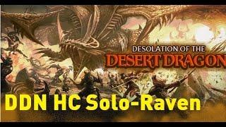 raven solo ddn hc no death lv 90 desertdragon hardcore solo dragon nest sea speedcolie 龍之谷烏鴉大沙單刷無死
