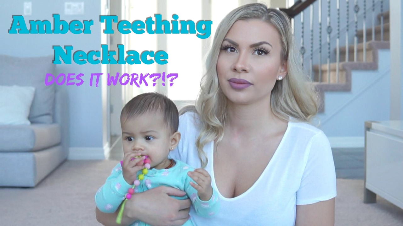 Amber Teething Necklace Does It Work Youtube
