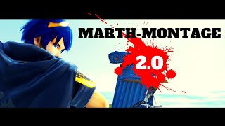 Smash Bros Ultimate- 8.0.0. BUFF OP! Marth-Montage