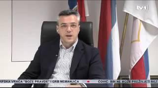 Огњен Тадић гост Дневника ТВ 1