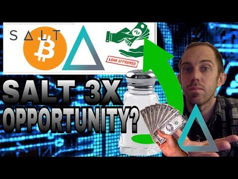 SALT COIN LENDING CRYPTO PRICE PRICE PREDICTION - WILL IT 3X WHEN THE MARKET BOUNCES BACK?