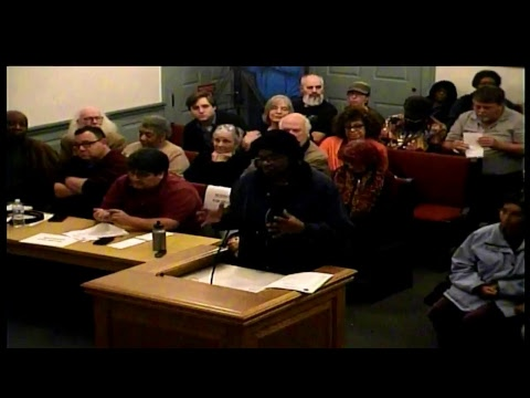 Albion, MI Special Council Meeting 10/30/17