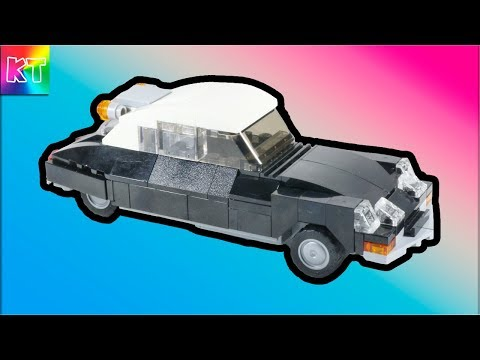 Lego Mini Citroen DS Cars for Kids Speed Build