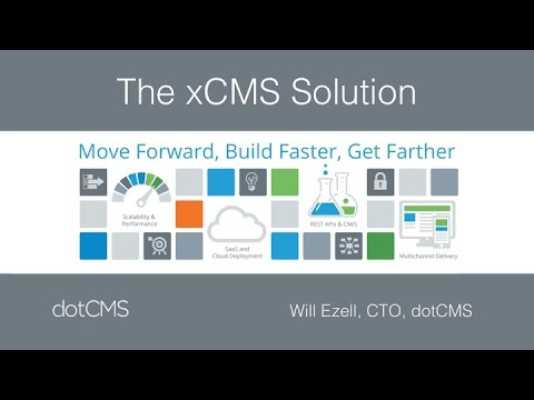 dotCMS - The xCMS Solution