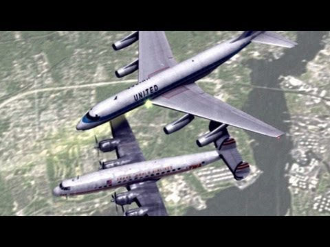 Planes Collide Above New York