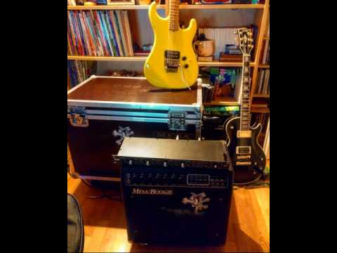 Mesa Boogie Mark III blue stripe - Torpedo CAB metal riffing Raw guitar track