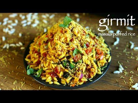 girmit recipe   masala puffed rice   north karnataka mandakki upkari