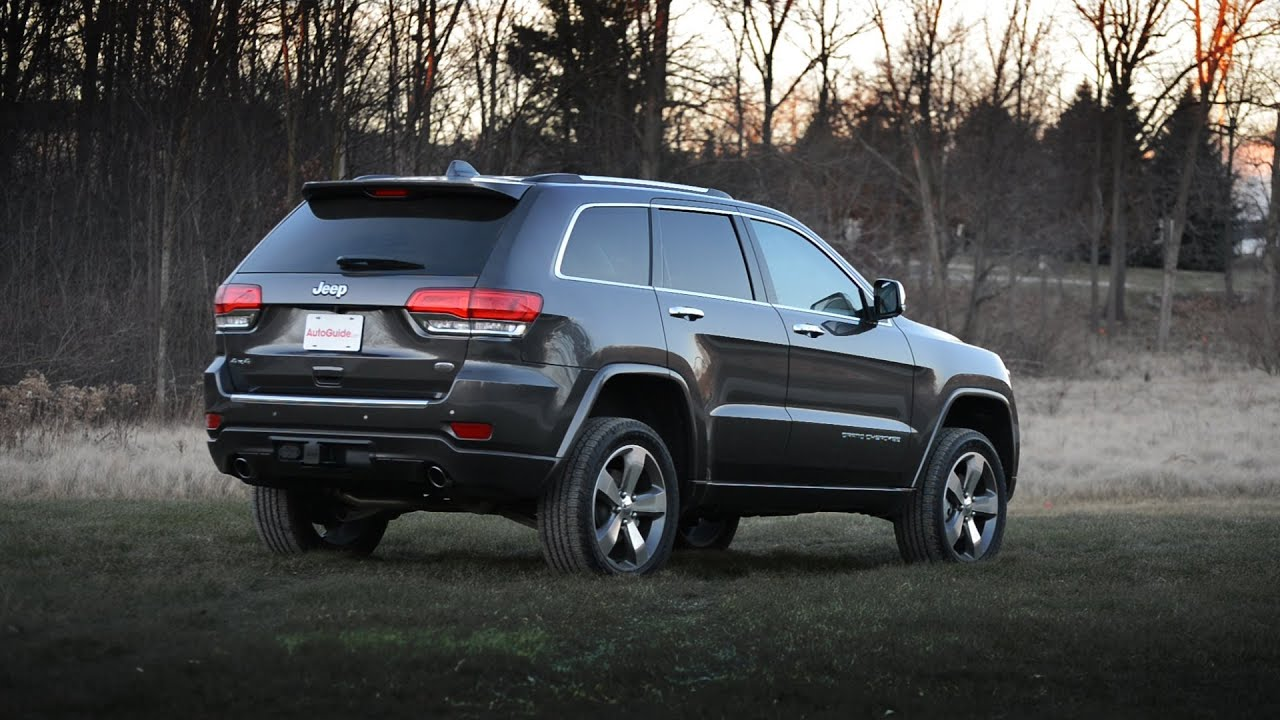 Awesome 2014 Jeep Grand Cherokee Overland 4x4 Review
