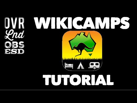 Using wikicamps to plan your camping and travel in Australia  TUTORIAL