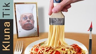 Spaghetti mukbang