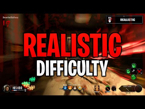 ROUND 21 REALISTIC DIFFICULTY! COD Black Ops 4 ZOMBIES - CLASSIFIED Full Gameplay!