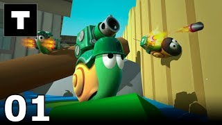 Epic Snails 01 Cannon (Gameplay)