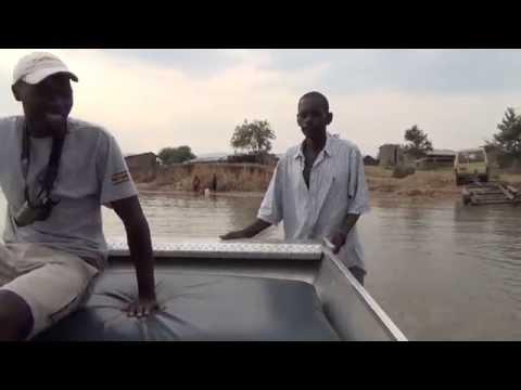Bird Watching Boat Trip  Lake Albert Uganda