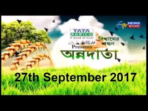 Polyhouse এ অসময়ের পালং চাষ  | Annadata | 27th September | ETV Bangla News