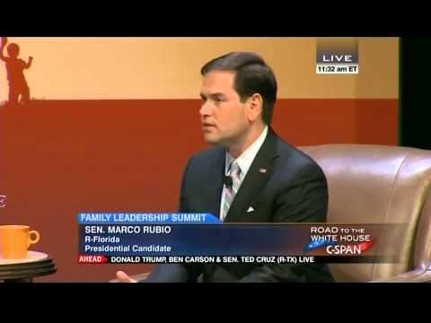 Senator Marco Rubio addresses environmental regulation