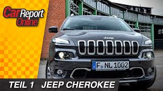 Jeep Cherokee Limited 3.2 V6  Test im Alltag - Car Report Online - english sub
