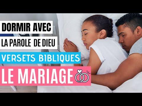 Versets Bibliques sur le Mariage | Le Mariage selon la Bible | Dormir en Couple avec paroles de Dieu