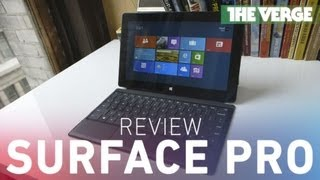 David Pierce takes a look at the Surface Pro, Microsoft's new Windo...