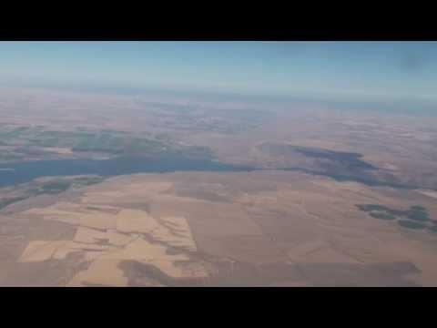 Takeoff at Tri-Cities Airport Pasco Washington RWY 30 PSC