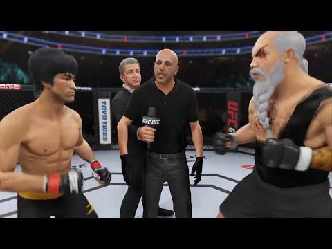 UFC 4   Bruce Lee Vs. Fighter Gouken (EA Sports UFC 4)