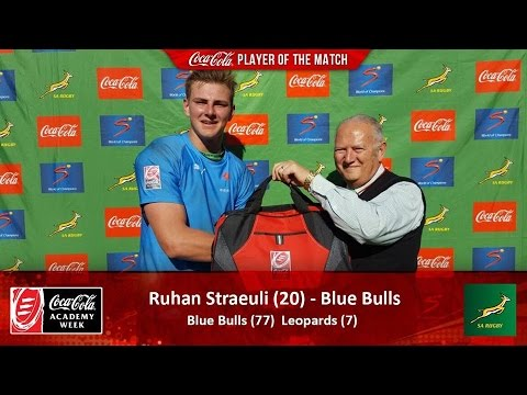 2016 U18 Academy Week Round 2 Blue Bulls vs Leopards H1