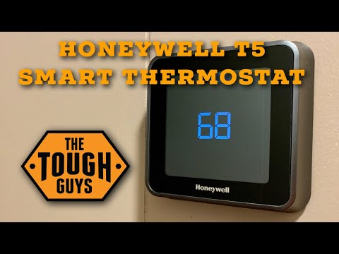 Unbox & Install Honeywell T5+ WiFi Smart Thermostat