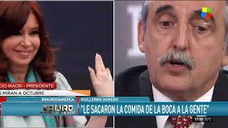 """Guillermo Moreno: """"No podés dejar al pueblo argentino sin comer, estos quieren reemplazar a Dios"""""""