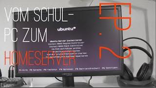 Ubuntu-Installation - Vom Schul-PC zum Homeserver  (Teil 2) | TechKarton (German)