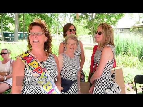 Fever shopping the Mackenzie-Childs Barn Sale (video)