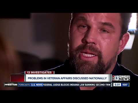 National VA Problems Mirror Those In Nevada